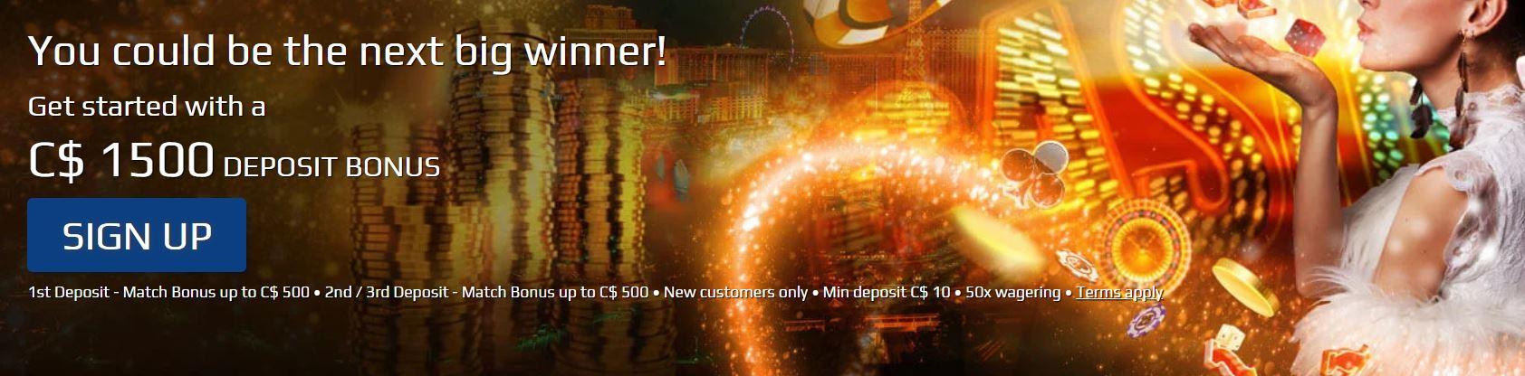 All Slots Casino Canada 2020 Claim C 1500 Welcome Bonus